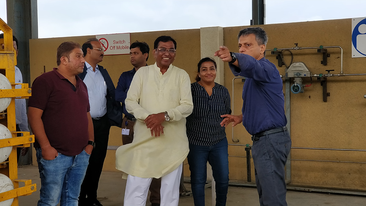 MP Shri Kirti Solanki Visit 21.08.2019