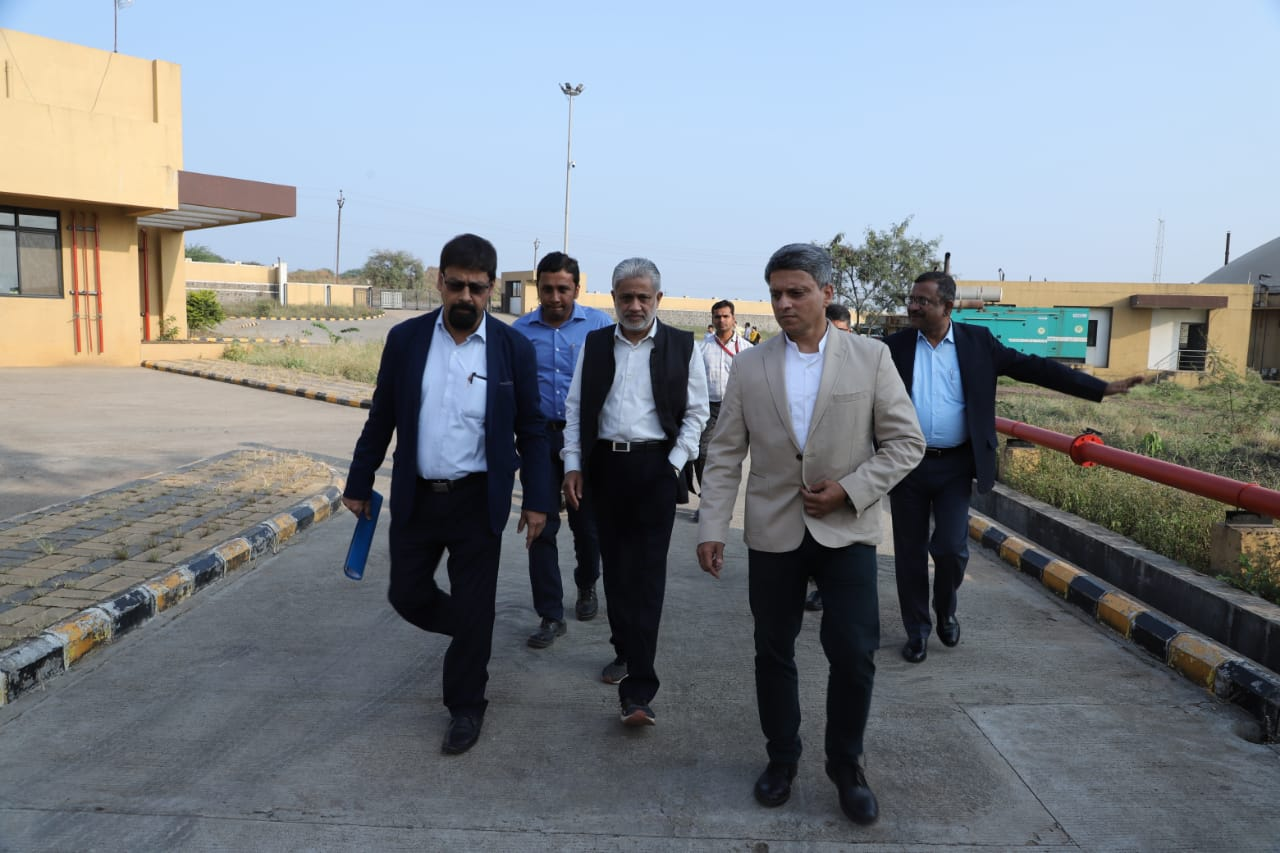 MoPNG Secretary Shri M.M.Kutty Visit 23.11.2019