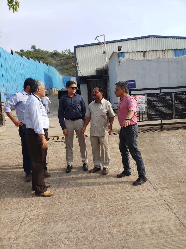 PMC Commissioner Shri Saurabh Rao Visit 19.07.2019