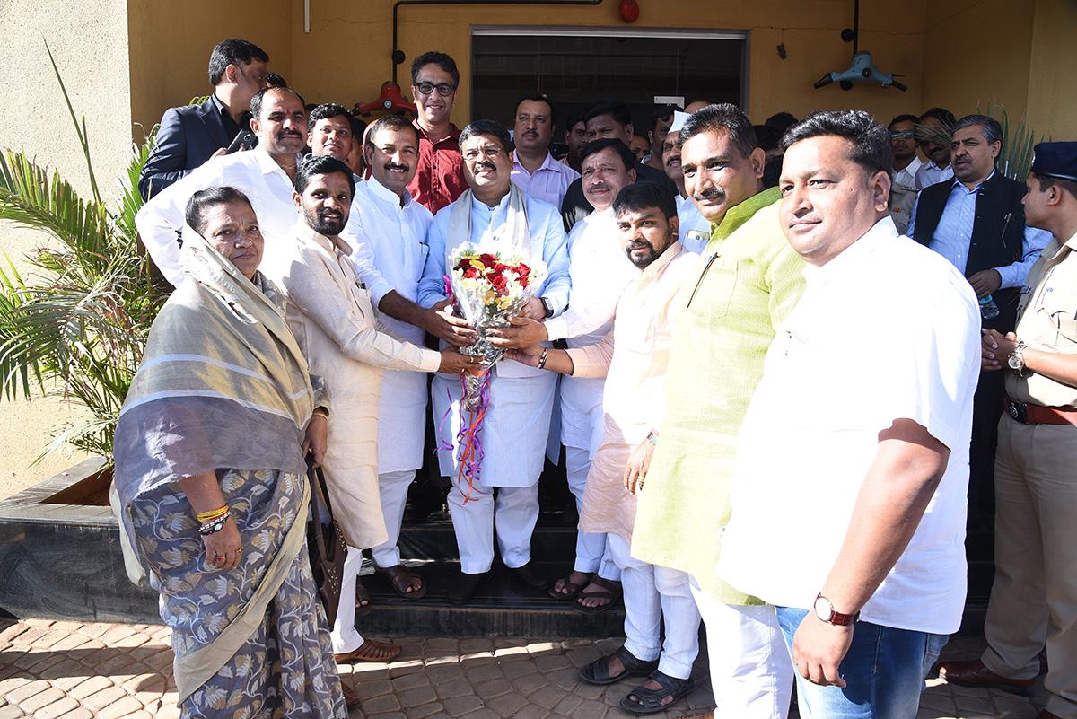 Shri Dharmendra Pradhan Visit on 24.11.2017